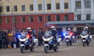 Мотоциклы BMW для нашей полиции, plm-045