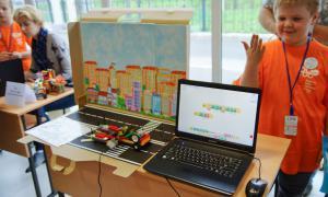 Региональный этап Всемирной Олимпиады роботов, roboty-013