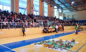 Региональный этап Всемирной Олимпиады роботов, roboty-040