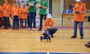 Региональный этап Всемирной Олимпиады роботов, roboty-051