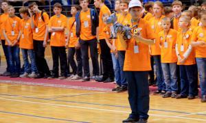 Региональный этап Всемирной Олимпиады роботов, roboty-052