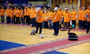 Региональный этап Всемирной Олимпиады роботов, roboty-053