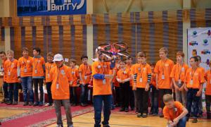 Региональный этап Всемирной Олимпиады роботов, roboty-054