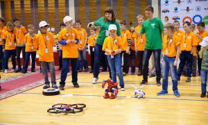 Региональный этап Всемирной Олимпиады роботов, roboty-055