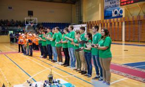 Региональный этап Всемирной Олимпиады роботов, roboty-057