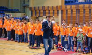 Региональный этап Всемирной Олимпиады роботов, roboty-061