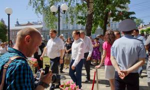 Открытие памятника Трифону Вятскому, trifon-013