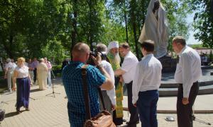 Открытие памятника Трифону Вятскому, trifon-014