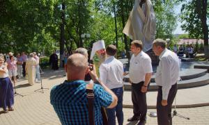 Открытие памятника Трифону Вятскому, trifon-015