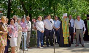 Открытие памятника Трифону Вятскому, trifon-017