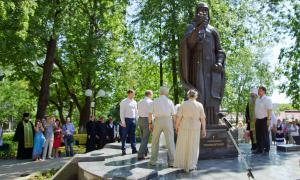 Открытие памятника Трифону Вятскому, trifon-022