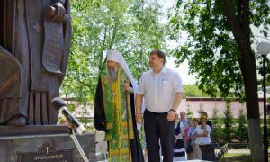 Открытие памятника Трифону Вятскому, trifon-023