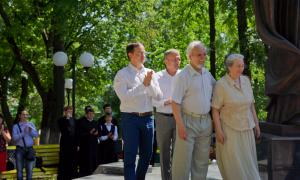 Открытие памятника Трифону Вятскому, trifon-024