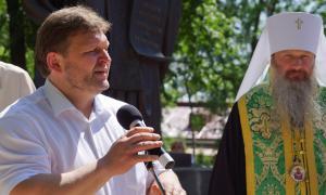 Открытие памятника Трифону Вятскому, trifon-025