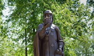 Открытие памятника Трифону Вятскому, trifon-029