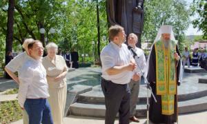 Открытие памятника Трифону Вятскому, trifon-030