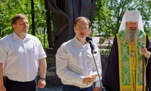 Открытие памятника Трифону Вятскому, trifon-031