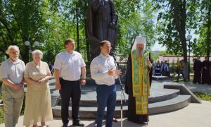 Открытие памятника Трифону Вятскому, trifon-032