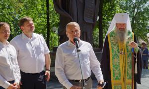 Открытие памятника Трифону Вятскому, trifon-034