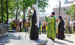 Открытие памятника Трифону Вятскому, trifon-036