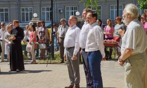 Открытие памятника Трифону Вятскому, trifon-039