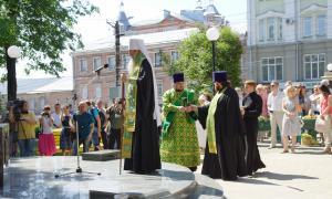Открытие памятника Трифону Вятскому, trifon-040