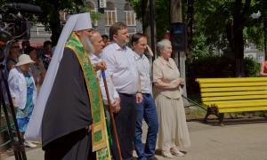 Открытие памятника Трифону Вятскому, trifon-049