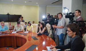 Брифинг для СМИ главы города Кирова, brifbykov-008