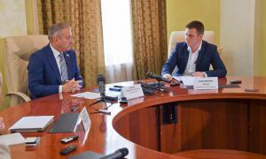 Брифинг для СМИ главы города Кирова, brifbykov-009
