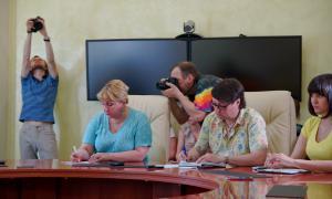 Брифинг для СМИ главы города Кирова, brifbykov-010