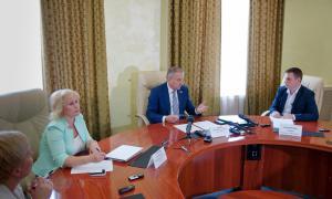 Брифинг для СМИ главы города Кирова