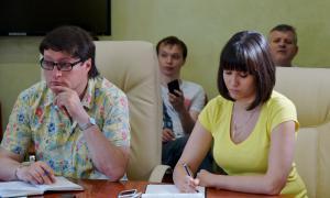 Брифинг для СМИ главы города Кирова, brifbykov-017
