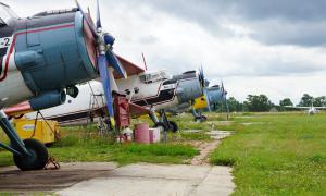 Аэродром Кучаны. Вяткаавиа, vavia-010