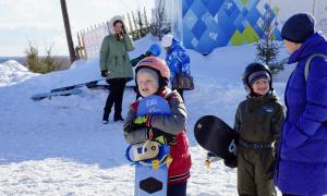 Первенство города по сноуборду