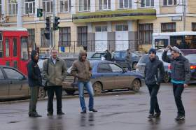 """Пикет ОДД """"Солидарность"""", p-04327"""