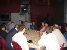 Заседание клуба ФСБ-4, Беседы. ФСБ-4