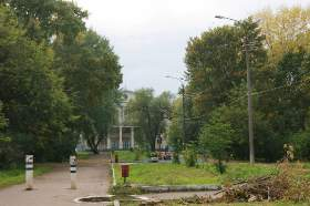 Филармония, телевышка, улица Орловская, osen.008