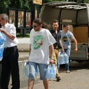 Организованный блогерами сбор вещей для пострадавших на Кубани.
