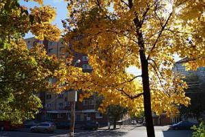 Осенние зарисовки в районе ДК Железнодорожников