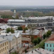 Фото видов Кирова с крыши Ростелекома на Московской, 20