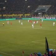Лужники. Футбол Россия-Португалия