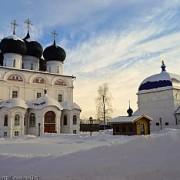 Вятка. Зима. Трифонов монастырь