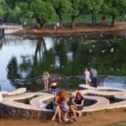 Фотозарисовка из парка им.Кирова