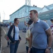 Отьезд Алексей Навального из Кирова