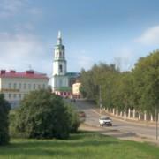 По улице Казанской